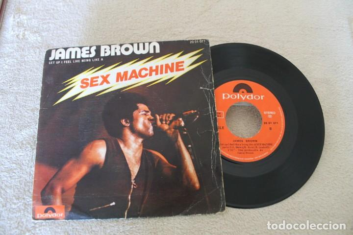 JAMES BROWN SEX MACHINE SINGLE (Música - Discos - Singles Vinilo - Funk, Soul y Black Music)