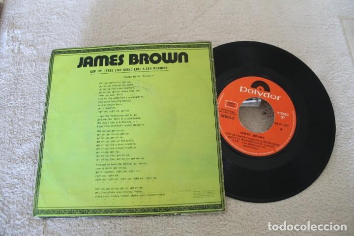 Discos de vinilo: JAMES BROWN SEX MACHINE SINGLE - Foto 2 - 158975502