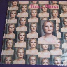 Discos de vinilo: TUA... MINA LP CAROSSELLO ORIZONTE 1987 PRECINTADO - ITALIA POP. Lote 158980882