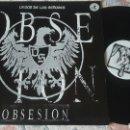 Discos de vinilo: LA VOZ DE LOS SEÑORES OBSESIÓN MAXI. Lote 158982406