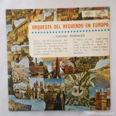Discos de vinilo: LP / NACHO ROSALES / ORQUESTA DEL RECUERDO EN EUROPA / 1967. Lote 158993554