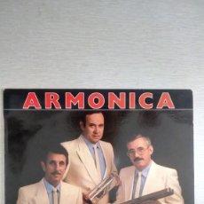 Disques de vinyle: TRIO REX ARMONICA CAMPEONES DE ESPAÑA. Lote 159012298