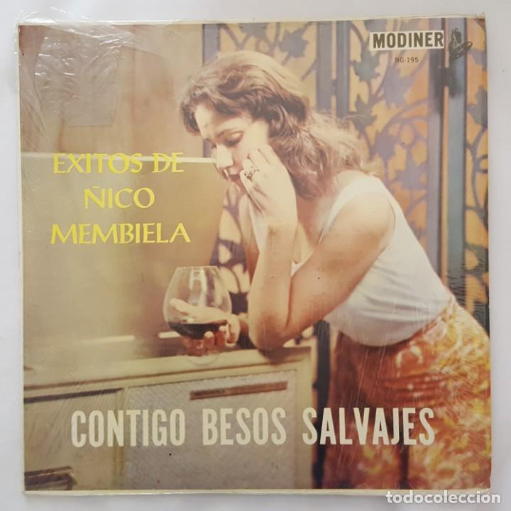 LP / EXITOS DE ÑICO MENBIELA / CONTIGO BESOS SALVAJES / USA (Música - Discos - LP Vinilo - Grupos y Solistas de latinoamérica)