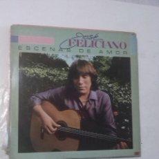 Discos de vinilo: JOSÉ FELICIANO Y EROS RAMAZZOTTI 2 LPS. Lote 159016326