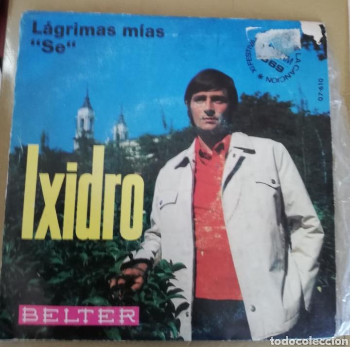 IXIDRO - LÁGRIMAS MIAS (Música - Discos - Singles Vinilo - Otros Festivales de la Canción)
