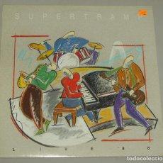 Discos de vinilo: SUPERTRAMP -LIVE '88' - LP EN DIRECTO AM RECORDS 1988 ED. ESPAÑOLA 396 982-1. Lote 159041410