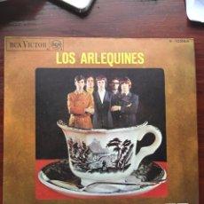 Discos de vinilo: LOS ARLEQUINES-TOMANDO CAFE/NO HAY AMOR PARA MI-1967-ESTADO DE COLECCION NUNCA USADO. Lote 159061006