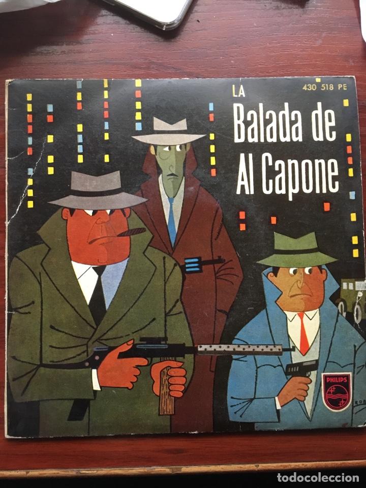 MARTY WILDE/ARTURO TESTA CUARTETO SOFFICI/RICHARD MALTBY-LA BALADA DE ALCAPONE-1960-RARO (Música - Discos - Singles Vinilo - Jazz, Jazz-Rock, Blues y R&B)