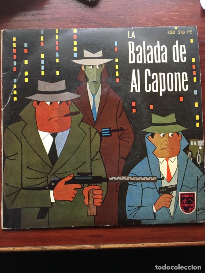 Discos de vinilo: MARTY WILDE/ARTURO TESTA CUARTETO SOFFICI/RICHARD MALTBY-LA BALADA DE ALCAPONE-1960-RARO - Foto 2 - 159061642