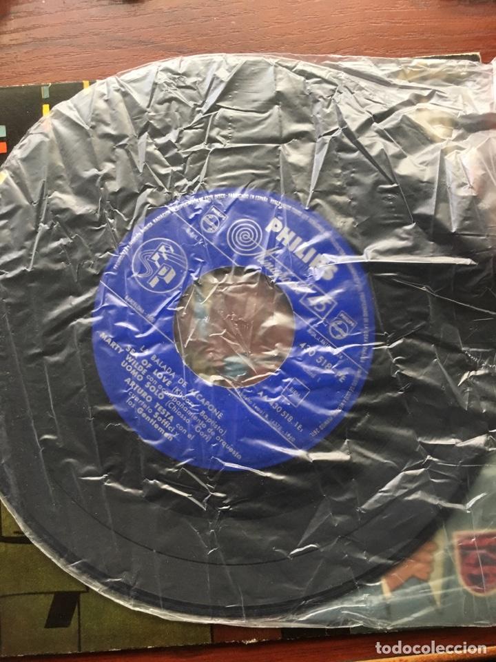 Discos de vinilo: MARTY WILDE/ARTURO TESTA CUARTETO SOFFICI/RICHARD MALTBY-LA BALADA DE ALCAPONE-1960-RARO - Foto 4 - 159061642