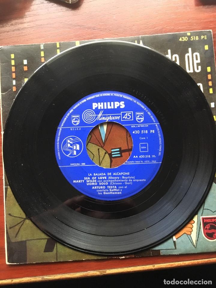 Discos de vinilo: MARTY WILDE/ARTURO TESTA CUARTETO SOFFICI/RICHARD MALTBY-LA BALADA DE ALCAPONE-1960-RARO - Foto 5 - 159061642