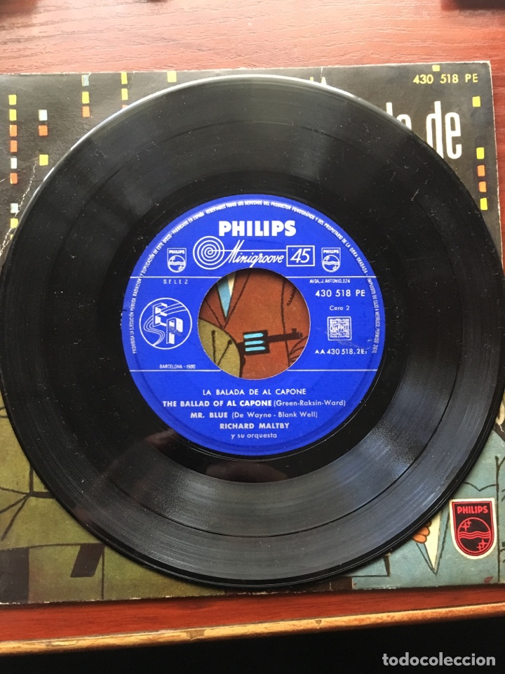 Discos de vinilo: MARTY WILDE/ARTURO TESTA CUARTETO SOFFICI/RICHARD MALTBY-LA BALADA DE ALCAPONE-1960-RARO - Foto 7 - 159061642