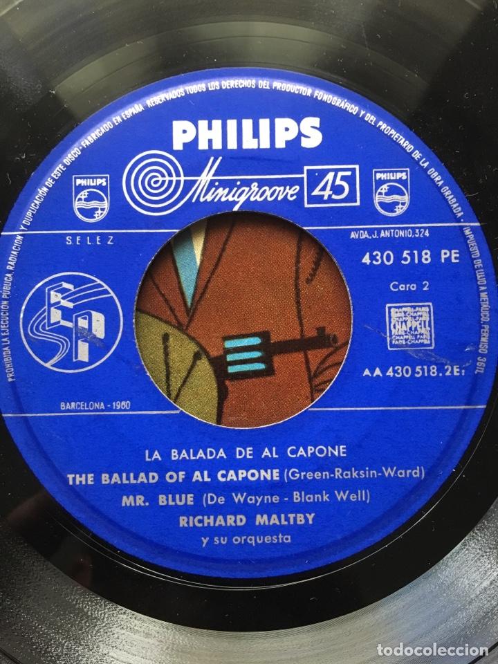 Discos de vinilo: MARTY WILDE/ARTURO TESTA CUARTETO SOFFICI/RICHARD MALTBY-LA BALADA DE ALCAPONE-1960-RARO - Foto 8 - 159061642
