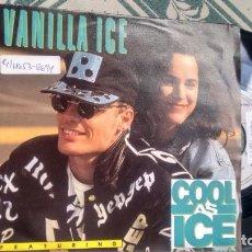 Dischi in vinile: SINGLE (VINILO) DE VANILLA ICE AÑOS 90. Lote 159062846