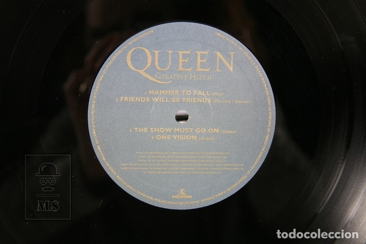 Discos de vinilo: Disco Doble LP De Vinilo - Queen Greatest Hits - EMI - Año 1991 - Con Encartes - Foto 2 - 164661793