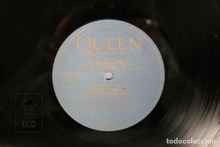 Discos de vinilo: Disco Doble LP De Vinilo - Queen Greatest Hits - EMI - Año 1991 - Con Encartes - Foto 3 - 164661793