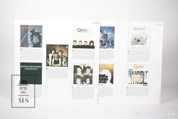 Discos de vinilo: Disco Doble LP De Vinilo - Queen Greatest Hits - EMI - Año 1991 - Con Encartes - Foto 4 - 164661793