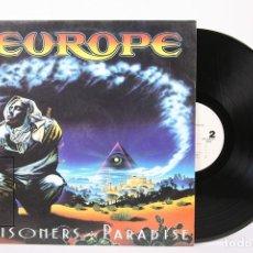 Discos de vinilo: DISCO LP DE VINILO - EUROPE / PRISIONERS IN PARADISE - EPIC - AÑO 1991 - CON ENCARTE. Lote 159066278