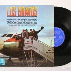 Discos de vinilo: DISCO LP DE VINILO - LOS BRAVOS / TRAPPED, BABY, BABY.... - COLUMBIA - AÑO 1966. Lote 159066430