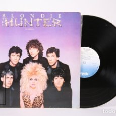 Discos de vinilo: DISCO LP DE VINILO - BLONDIE / HUNTER - CHRYSALIS - AÑO 1982 - CON ENCARTE. Lote 159066774