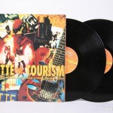Discos de vinilo: DISCO DOBLE LP DE VINILO - ROXETTE / TOURISM - EMI - AÑO 1992 - CON ENCARTES - PORTADA ABIERTA. Lote 159067061