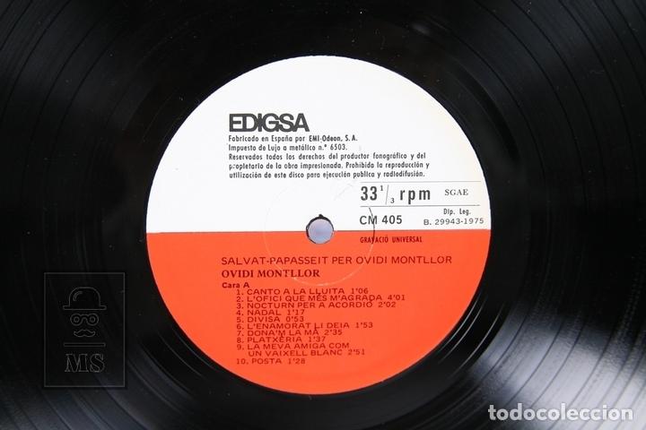 Discos de vinilo: Disco LP De Vinilo - Ovidi Montllor / Salvat Papasseit - Edigsa - Año 1975 - Libreto y Doble Portada - Foto 2 - 159067406