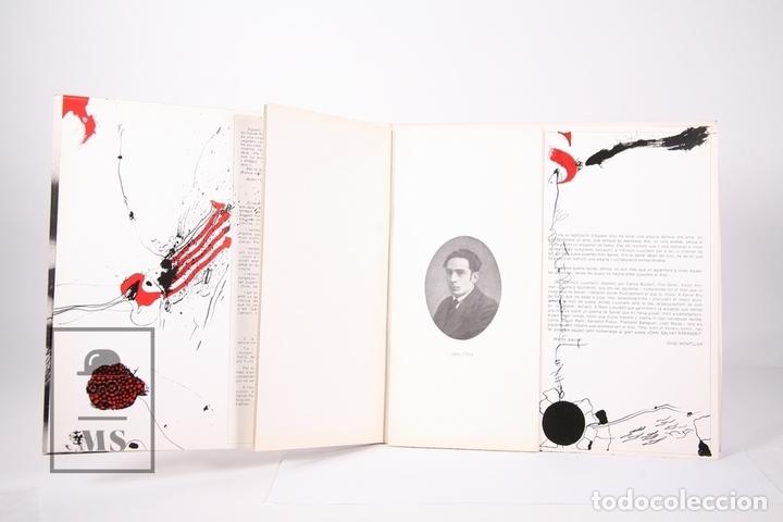 Discos de vinilo: Disco LP De Vinilo - Ovidi Montllor / Salvat Papasseit - Edigsa - Año 1975 - Libreto y Doble Portada - Foto 3 - 159067406
