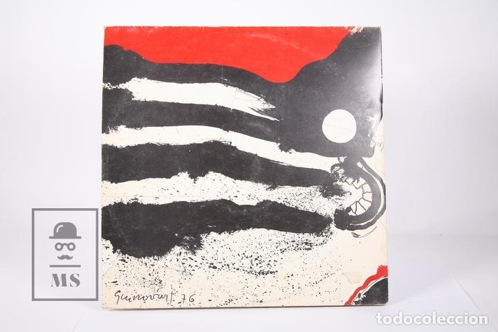 Discos de vinilo: Disco LP De Vinilo - Ovidi Montllor / Salvat Papasseit - Edigsa - Año 1975 - Libreto y Doble Portada - Foto 5 - 159067406