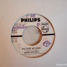 Discos de vinilo: MADELINE BELL PICTURE ME GONE / I'M GONNA MAKE YOU LOVE ME SOUL MOD 1967 ORIGINAL USA PROMO VG++. Lote 159068330