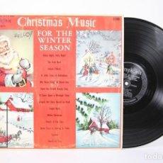 Discos de vinilo: DISCO LP DE VINILO - CHRISTMAS MUSIC FOR THE WINTER SEASON - ULTRAPHONIC - AÑO 1958 - MADE IN USA. Lote 159068762