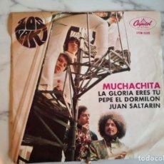 Discos de vinilo: LOS YAKI JUAN SALTARÍN ROLLING STONES EN CASTELLANO 1968 EP ORIGINAL MÉXICO VG+. Lote 159071522