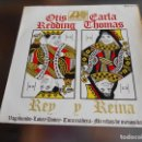 Discos de vinilo: OTIS REDDING Y CARLA THOMAS, EP, VAGABUNDO (TRAMP) + 3, AÑO 1967. Lote 159092778