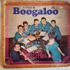 Discos de vinilo: TOÑO QUIRAZCO A RITMO DE BOOGALOO LATIN SOUL BOOGALOO 1967 EP ORIGINAL MEXICO VG. Lote 159095994