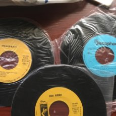 Discos de vinilo: LOTE SINGLES NUEVOS-JOE JEFFREY-JEAN KNIGHT-THE BAR KAYS-NUEVOS. Lote 159104466