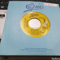 Discos de vinilo: MICHAEL JACKSON SINGLE PROMOCIONAL POR UNA SOLA CARA SMOOTH CRIMINAL ESPAÑA 1988 ESCUCHADO. Lote 159105050