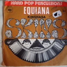 Discos de vinilo: SKINS EQUIANA / KINSHASA AFROBEAT FUNK 1972 ORIGINAL FRANCIA VG+. Lote 159106038