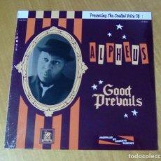 Discos de vinilo: ALPHEUS - GOOD PREVAILS (LP 2014, LIQUIDATOR MUSIC LQ-072) PRECINTADO. Lote 159116558