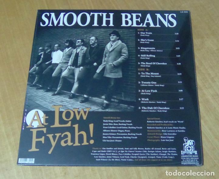 Discos de vinilo: SMOOT BEANS - At Low Fyah! (LP Liquidator Music LQ 045) PRECINTADO - Foto 2 - 159119962