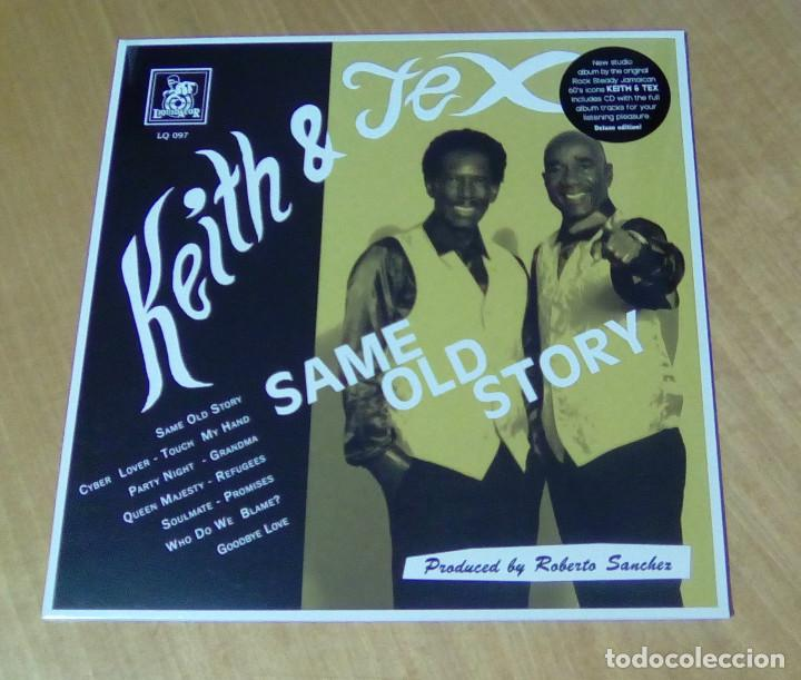 KEITH & TEX - SAME OLD STORY (LP 2017, LIQUIDATOR MUSIC LQ 097) PRECINTADO (Música - Discos - LP Vinilo - Reggae - Ska)