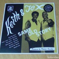 Discos de vinilo: KEITH & TEX - SAME OLD STORY (LP 2017, LIQUIDATOR MUSIC LQ 097) PRECINTADO. Lote 159121142