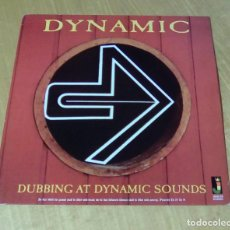 Discos de vinilo: VARIOS - DUBBING AT DYNAMIC SOUNDS (LP 2007, JAMAICAN RECORDINGS JRLP027) NUEVO. Lote 159122258