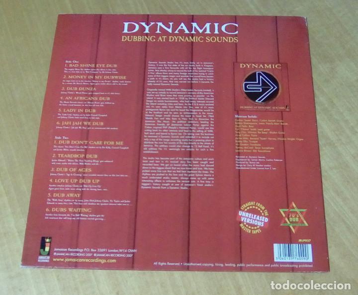 Discos de vinilo: VARIOS - Dubbing At Dynamic Sounds (LP 2007, Jamaican Recordings JRLP027) NUEVO - Foto 2 - 159122258