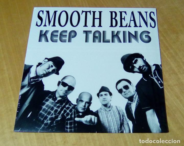 SMOOTH BEANS - KEEP TALKING (LP 2012, LIQUIDATOR MUSIC LQ058) PRECINTADO (Música - Discos - LP Vinilo - Reggae - Ska)