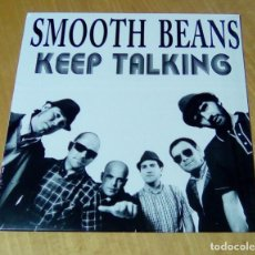 Discos de vinilo: SMOOTH BEANS - KEEP TALKING (LP 2012, LIQUIDATOR MUSIC LQ058) PRECINTADO. Lote 159123138