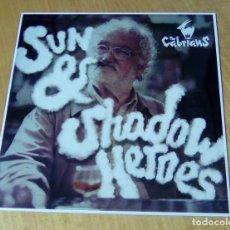 Discos de vinilo: THE CABRIANS - SUN & SHADOW HEROES (LP LIQUIDATOR MUSIC LQ089) PRECINTADO. Lote 159123986