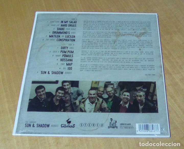 Discos de vinilo: THE CABRIANS - Sun & Shadow Heroes (LP Liquidator Music LQ089) PRECINTADO - Foto 2 - 159123986