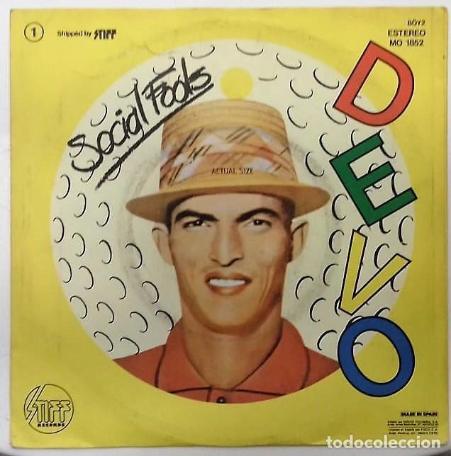 Discos de vinilo: DEVO - BE STIFF SG ED. ESPAÑOLA 1979 - Foto 2 - 159124298