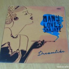 Discos de vinilo: MANY LOVES SKA JAZZ - DREAMLIKE (LP 2014, CINEDELIC RECORDS CNLP 35) PRECINTADO. Lote 159124930