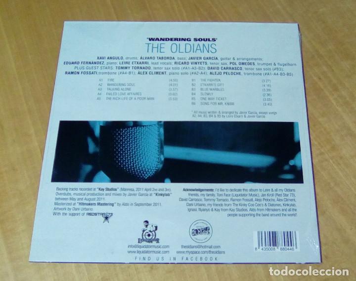 Discos de vinilo: THE OLDIANS - Wandering Souls (LP 2011, Liquidator Music LQ1004) PRECINTADO - Foto 2 - 159125706