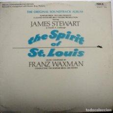 Discos de vinilo: EL ESPÍRITU DE SAN LUÍS. THE SPIRIT OF ST. LOUIS. FRANZ WAXMAN. Lote 159130798